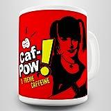 Caf-Pow Abby Gift Mug - Inspired by NCIS