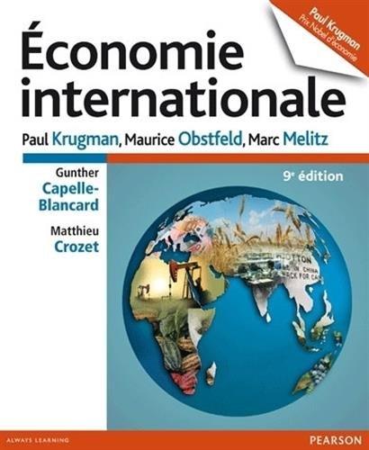 Economie internationale 9e édition