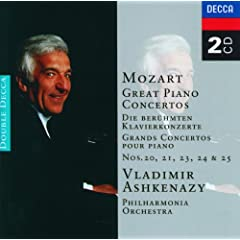 Mozart: Great Piano Concertos