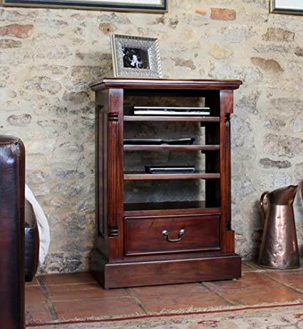 La Roque Mahogany Entertainment Cabinet