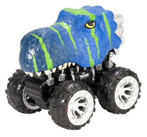 Wild Republic Motor Headz T-Rex Blue Vehicle
