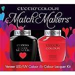 Cuccio Veneer and Colour Matchmaker Nail Polish Costa Rican Sunset