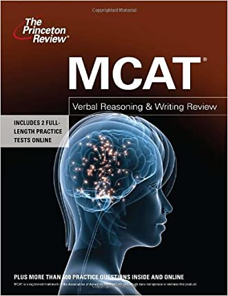 MCAT Verbal Reasoning & Writing Review (Graduate School Test Preparation)