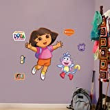 Dora the Explorer 407 Junior Fathead Wall Decal