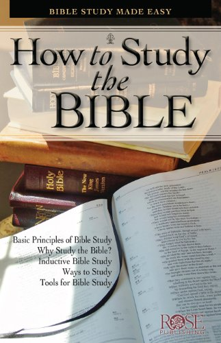 How To Study the Bible: Bible Study Made Easy (Bible History Made Easy compare prices)