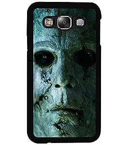 ColourCraft Scary face Design Back Case Cover for SAMSUNG GALAXY E5