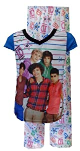 One Direction 1D Band Members Pose Pajamas for girls