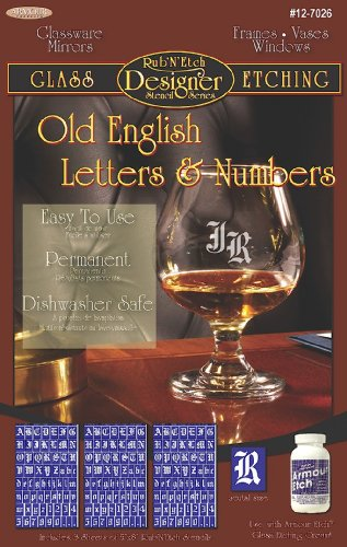 Old English Letter Stencils | Browse Old English Letter