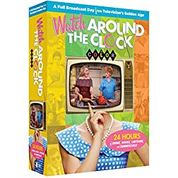 Watch Around The Clock - 24 Hours of TV in COLOR!+ Digital