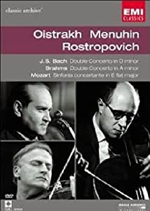 Collection Classic Archive : David Oistrakh, Yehudi Menuhin et Mstislav Rostropovitch