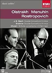 Collection Classic Archive : David Oistrakh, Yehudi Menuhin et Mstislav Rostropovitch