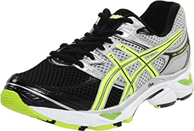 ASICS Men's GEL-Cumulus 13 Running Shoe,Lightning/Neon Yellow/Black,6 M US