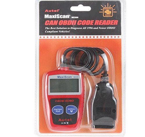 Autel Maxiscan MS309 Diagnosescanner Codeleser CAN OBD2 EOBD OBDII MS309, mehr Funktionen als MS300