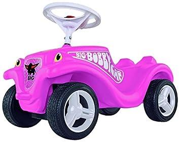 BIG BobbyCar Princess avec roues silencieuses blanc/rose