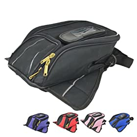 Motorcycle Tank Bag TB400 Black
