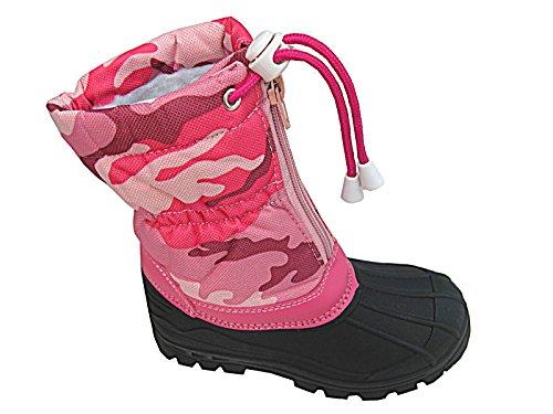 foster-footwear-botas-de-agua-de-trabajo-para-chico-chica-unisex-para-ninos-color-rosa-talla-32-eu-n