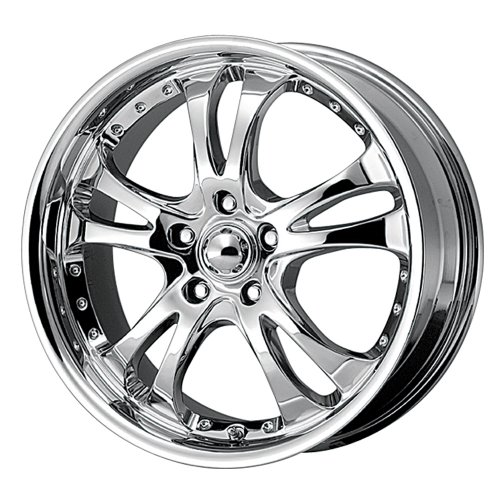 American Racing Casino (Series AR683) Chrome - 17 X 7.5 Inch Wheel