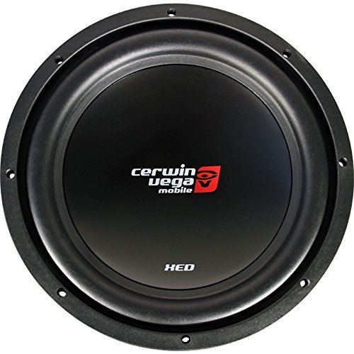 "Cerwin-Vega Xed12 1000W Max 12"" Svc 4 Omh / 200W Rms Car Subwoofers"
