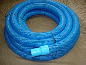 Commercial grade pool vacuum hose 50 ft for Garden hose pool vacuum