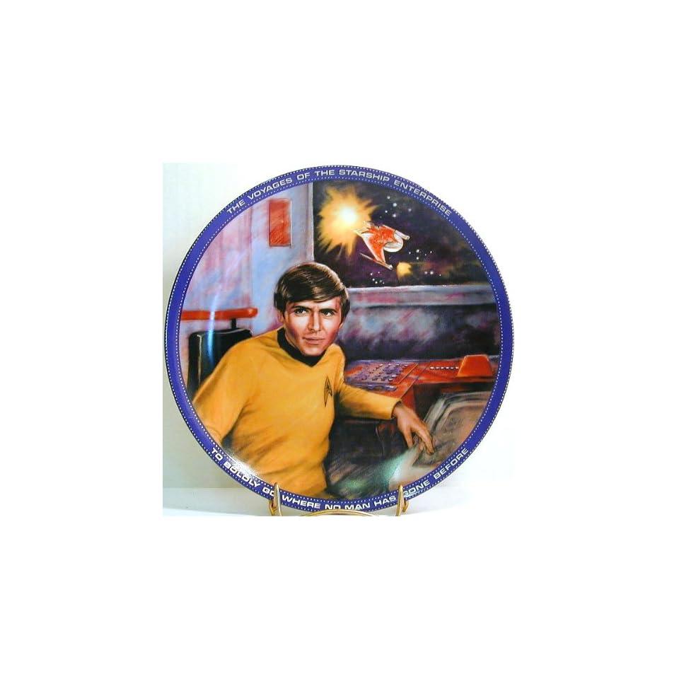 GL494   Hamilton Collection Star Trek Chekov collector plate
