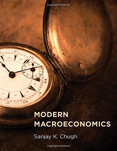 Modern Macroeconomics (MIT Press), by Sanjay K. Chugh