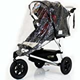 Mountain Buggy RAINCOVER (ZIPPED) Urban Jungle/Terrain (Single) Storm Cover Chrystal Clear Heavy Duty Design