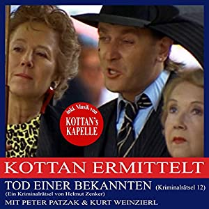 Tod einer Bekannten (Kottan ermittelt - Kriminalrätsel 12) Hörbuch