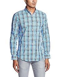 Arrow Sports Men's Casual Shirt  (8907259815619_ASRS3140_40_Medium Blue)
