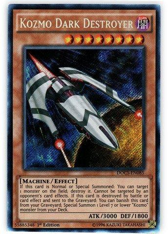 おもちゃ Yu-Gi-Oh! - Kozmo Dark Destroyer (DOCS-EN085) - Dimension of Chaos - 1st Edition - Secret Rare [並行輸入品]