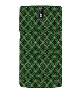EPICCASE greenish florist Mobile Back Case Cover For OnePlus One (Designer Case)