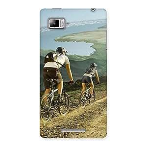 Mountain Bikers Back Case Cover for Lenovo Vibe Z K910