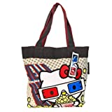 Loungefly Hello Kitty 3D Tote (Tan/Multi)