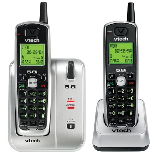 Vtech CS5111-2 Two Handset Cordless Phone System with Caller ID