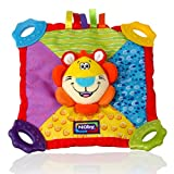 Nuby Art. 6568 Teething Blankie Toy - Lion