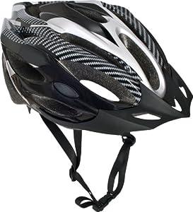 Trespass Crankster Cycle Helmet - Black, Small/Medium