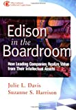 img - for Edison in the Boardroom: How Leading Companies Realize Value from Their Intellectual Assets book / textbook / text book