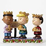 Jim Shore for Enesco Peanuts Three Wise Men (2nd in Series) Figurine, 4.6""