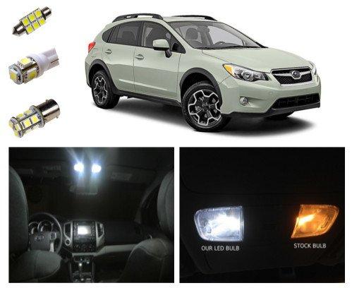 13 Subaru Xv Crosstrek Led Package Interior Tag Reverse Lights 8 Pieces Vehicles Parts