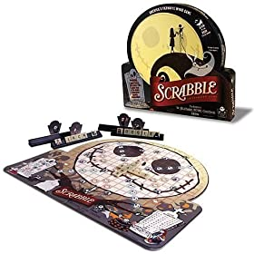 Nightmare Before Christmas Scrabble