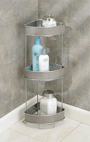 MDesign Metallic Bath Accessories Bed Bath And Kitchen