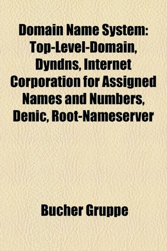 Domain Name System: Top-Level-Domain, Dyndns, Internet Corporation for Assigned Names and Numbers, Denic, Root-Nameserver