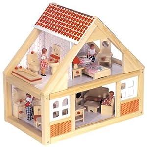 2502 eichhorn holz puppenhaus spielzeug. Black Bedroom Furniture Sets. Home Design Ideas
