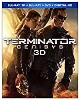 Terminator Genisys 3D (Blu-ray 3D + Blu-ray + DVD + Digital HD) from Paramount