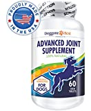 Glucosamine Supplement for Dogs with MSM, Chondroitin, & Omega 3 - Best Extra Strength Support for Hip & Joint Pain and Arthritis Relief for Small, Large, & Senior Dogs - Chewable Tablets - Made in the USA