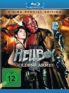 Hellboy II: Die goldene Armee [Blu-ray] (inkl. Bonus-DVD) [Import allemand]