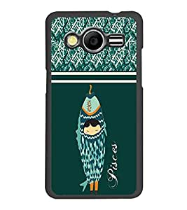 PrintDhaba Zodiac Pisces D-2740 Back Case Cover for SAMSUNG GALAXY CORE 2 G355H (Multi-Coloured)