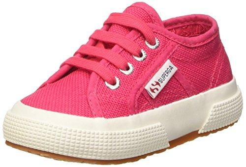 Superga 2750-Jcot Classic Scarpe Walking Baby, Unisex bimbo, Rosa (Red Azalea), 23