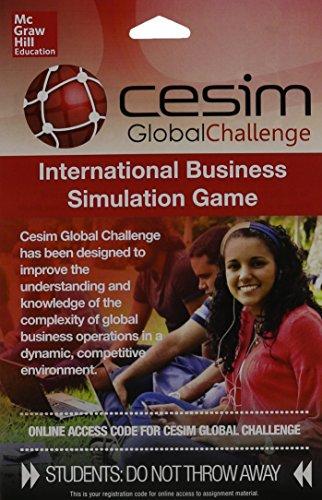 CESIM Access Code Card