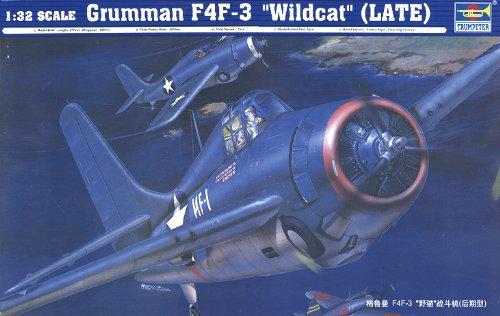 Trumpeter 02225 - Monomotore da caccia Grumman F4F-3 Wildcat