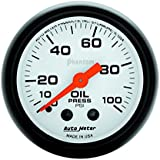 Auto Meter 5721 Phantom Mechanical Oil Pressure Gauge